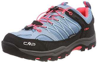 CMP Campagnolo Unisex Adults' Rigel Hiking Sandals, Turquoise (Clorophilla-red Fluo 89bd)