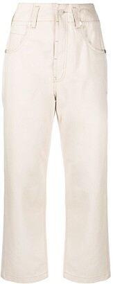 Sofie D'hoore Pollock cropped trousers