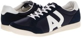 Armani Jeans Logo Sneaker (Navy) - Footwear