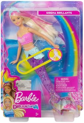 Mattel Barbie(R) Sparkle Lights Mermaid Doll
