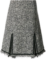 Giambattista Valli pleated knee length skirt