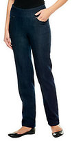 "Denim & Co. Tall ""How Smooth"" Straight Leg Jeans"