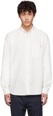 HUGO White Oxford Ermann Solid Shirt