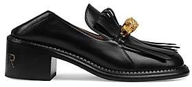 Gucci Women's Dionysus Tiger Head Leather Loafers
