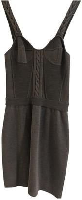 Proenza Schouler Khaki Wool Dresses