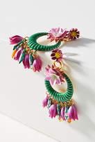 Elizabeth Cole Abbot Wreath Drop Earrings
