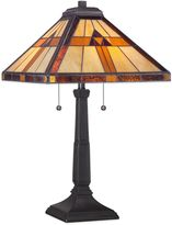 Quoizel Tiffany Bryant Table Lamp in Black