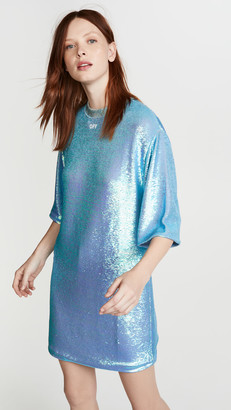 Off-White Paillettes Sequin Dress