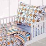 Bacati Modern Sports Toddler Bedding Set