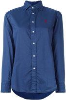 Polo Ralph Lauren embroidered logo shirt - women - Cotton - 12