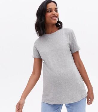 New Look Maternity Roll Sleeve T-Shirt