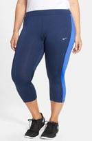 Nike 'Essential' Dri-FIT Capris (Plus Size)