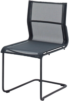 Houseology Gloster Sway Stacking Chair - Meteor - Grey
