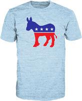 Novelty T-Shirts Democrat Donkey Short-Sleeve Tee