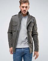 ONLY & SONS Military Jacket With Badges