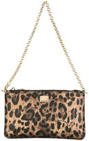 Dolce & Gabbana mini shoulder bag - women - Cotton/Calf Leather/Polyester/Polyurethane - One Size