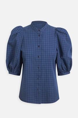 Britt Sisseck - Dalia Shirt In Indigo Check - 34