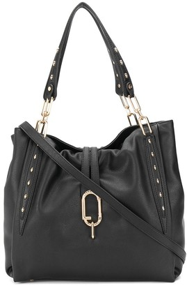Liu Jo Large Faux Leather Studded Tote