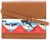 Paul Smith tuna print satchel bag