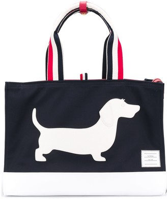 Thom Browne Hector Icon tote
