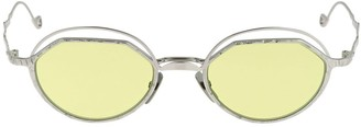 H70 Double Framed Metal Round Sunglasses
