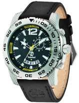 Timberland Men's Hydroclimb Moon Phase Leather Strap Watch, 43mm