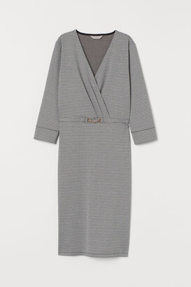 H&M Tailored jersey dress