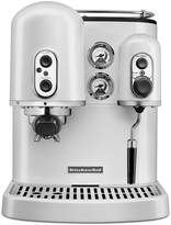 KitchenAid Frosted Pearl White Pro Line Series Espresso Maker with Dual Independent Boilers