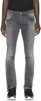 Pierre Balmain Grey Skinny Jeans
