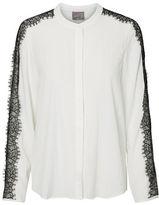 Vero Moda Lissy Long Sleeve Lace Shirt