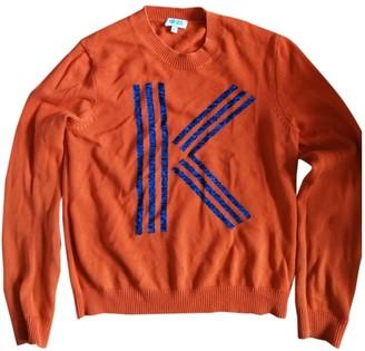 Kenzo Orange Cotton Knitwear
