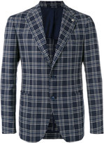 Tagliatore checked blazer - men - Silk/Cupro/Virgin Wool - 46