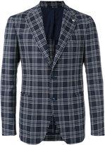 Tagliatore checked blazer - men - Silk/Cupro/Virgin Wool - 46