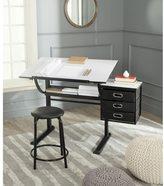 Safavieh Harvard Modern Black/ White Writing Desk