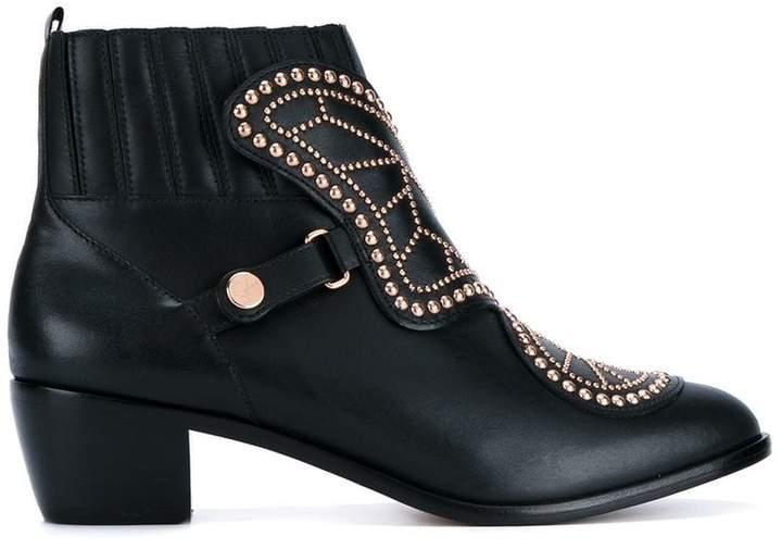 Sophia Webster studded ankle boots