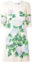 Dolce & Gabbana floral shift dress - women - Silk/Spandex/Elastane/Viscose - 46