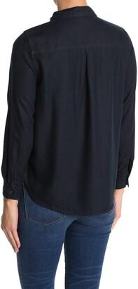 Velvet Heart Bennett Long Sleeve Button Front Pocket Shirt