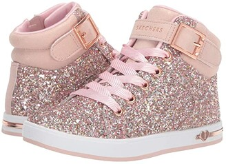Skechers Shoutouts 84361L (Little Kid/Big Kid) (Rose Gold) Girl's Shoes
