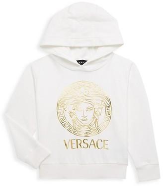 Versace Baby Boy's Logo Goldtone Hoodie