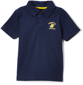 Beverly Hills Polo Club Midnight Navy Jersey Polo - Toddler & Boys