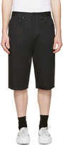 Alexander Wang Black Skater Shorts