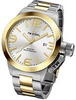 TW Steel Men's CB32 Analog Display Quartz Silver Watch