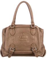 Fendi Logo Selleria Handle Bag