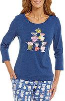 Sleep Sense Stacked Cups Jersey Sleep Top