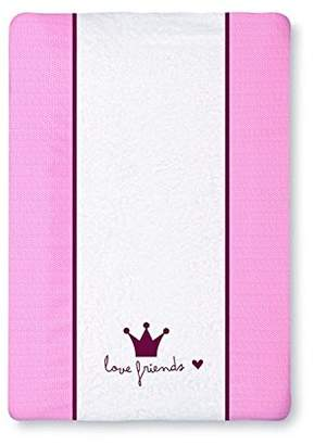 Camilla And Marc pirulos 36012314 - Changing Bathtub, Cotton, 50 x 70 cm, White/Pink