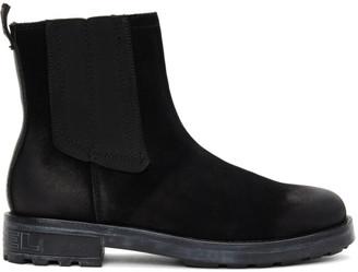 Diesel Black D-Throuper CB Chelsea Boots
