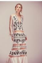 For Love & Lemons Womens NICCOLA MAXI DRESS