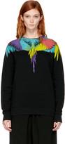 Marcelo Burlon County of Milan Black Neurk Sweatshirt