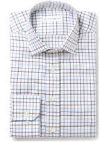 Etro - Slim-fit Checked Cotton-jacquard Shirt