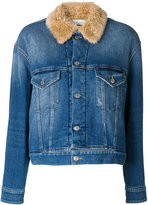 Golden Goose Deluxe Brand fitted denim jacket - women - Cotton/Acrylic/Polyester/Viscose - XS